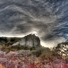 Storm gathering in the Texas Hill Country