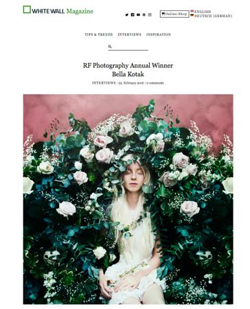White Wall Magazine - 2016