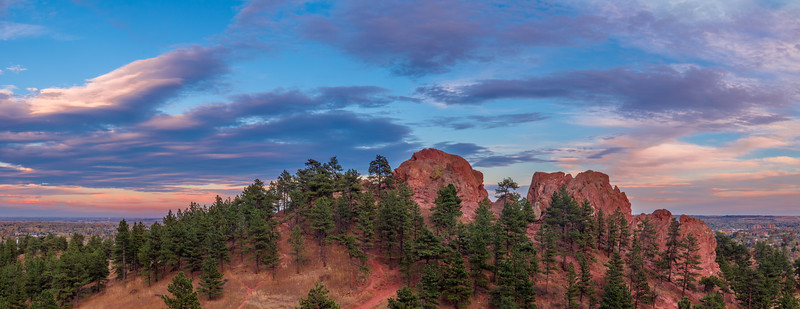 Red Rocks Boulder Pano