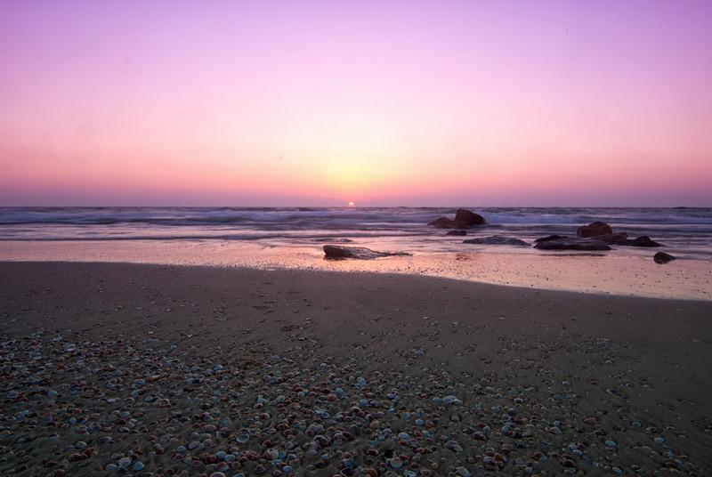 Sunset @ Nitsanim