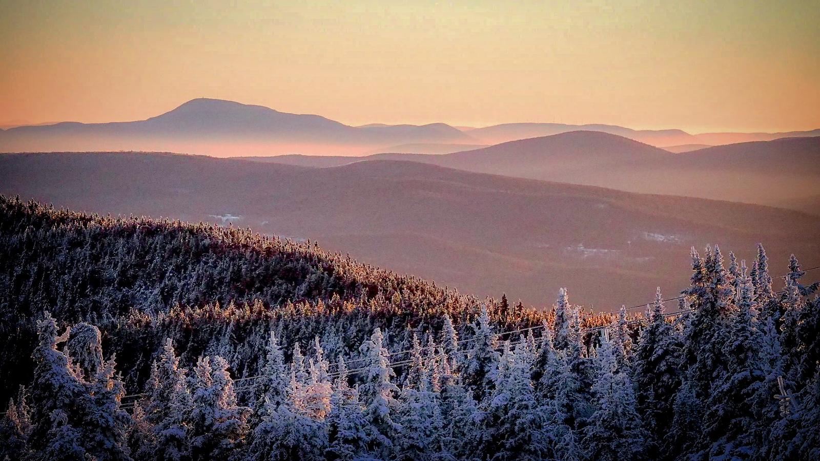 View of Mt Greylock - Mt Snow Summit - Jan 2016