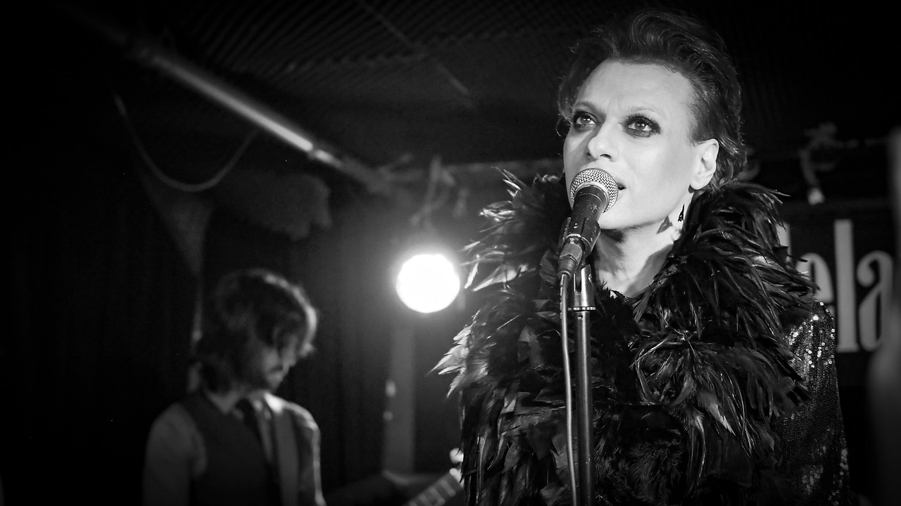 Michael Tee & The Vanities - Bowie Tribute Show @The Delancy - Jan 2017
