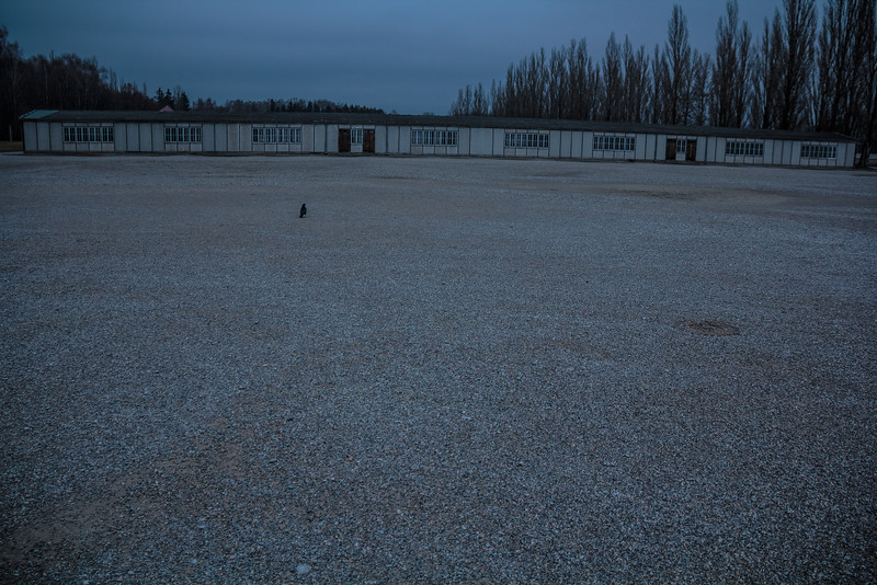 Dachau Concentration Camp -View of prisoners' barracks