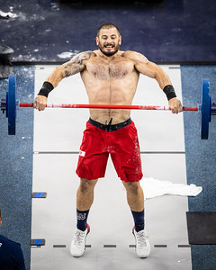"""Mat Fraser in the final Event """"The Standard"""""""