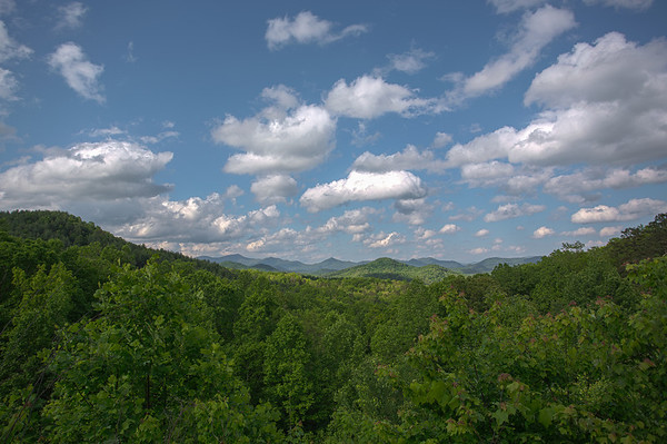 somewhere in the Georgia hills
