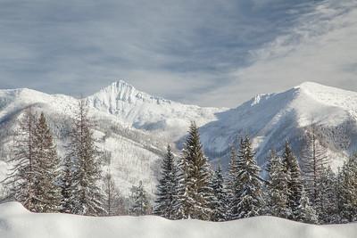Swan Mountain Range, Flathead National Forest, Condon, Montana