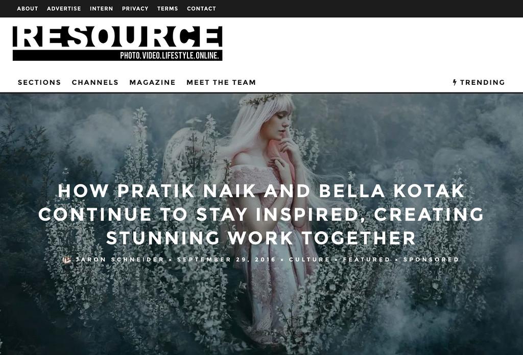 Resource Magazine Interview - September 2016