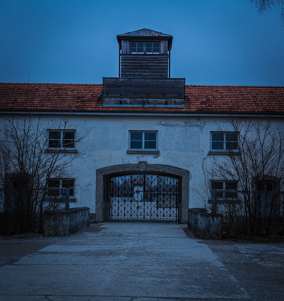 Dachau Concentration Camp - Picture of the Jourhouse.
