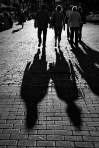 20120916.  Shadows on Long Warf, Boston MA.