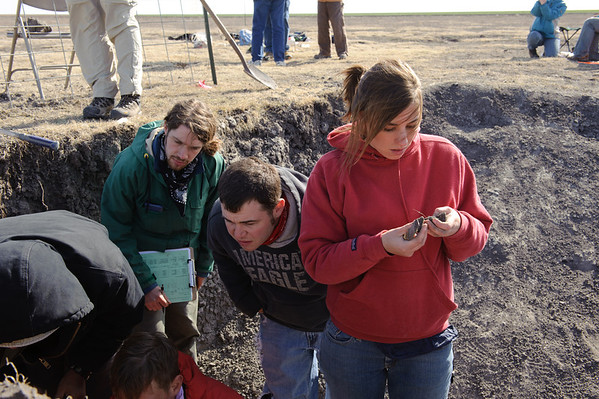 Fourteen universities attended the 50th National Collegiate Soil Judging Contest hosted by Texas Tech University's Department of Plant and Soil Science in 2010.