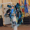 "The Youth Drum & Dance Group: Spirit of the Buffalo Dancers & Singers, Blackfeet Tribe, Browning, Mont., opened each day's General Session at the ""The Better the Future"" - An Indian Agriculture Symposium..<br /> NRCS photo by Beverly Moseley."