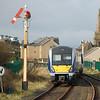 4003 heads to Londonderry seen departing Castlerock Village Weds 260112