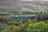 22052 crosses Quagmire Viaduct with the 1330 Mallow - Tralee. Sat 06.10.12