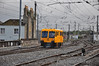 Inspection Car 721 departs from Connolly Turntable with the 0935 Inspection Car working to Sligo. Tues 02.10.12
