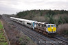 """The ICR Unit damaged in the Athenry Incident, 22033 (see: <a href=""""http://www.irishrail.ie/news_centre/travel_alerts.asp?action=view&news_id=1194"""">http://www.irishrail.ie/news_centre/travel_alerts.asp?action=view&news_id=1194</a>) was moved from Laois Traincare to Inchicore for repairs on Thurs 12th January 2012. Loco 076 was used to haul the set and it was pictured passing Straboe, between Portlaoise & Portarlington following the 0720 Tralee - Heuston. <br /> <br /> Csalem also photographed the train passing Adamstown this afternoon. Click on: <a href=""""http://smu.gs/zbYElx"""">http://smu.gs/zbYElx</a>"""