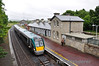 22052 arrives at Roscrea with the diverted 1340 Heuston - Limerick. Tues 03.07.12