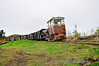 LM237 hauls a heavy load of milled peat from Clonkeen Bog to Coolnamona Works near Portlaoise. Mon 23.04.12