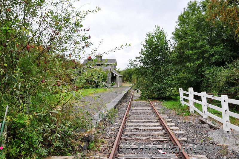 Adare Station on the mothballed Foynes Branch. Sun 07.10.12