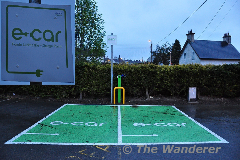 E Car Ireland Charging Points have recently been installed in the Station Car Park at Kildare. Tues 01.05.12