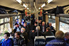The railtour was sold out, which resulted in rather cramped conditions on board, but nobody seemed to mind. Sat 18.02.12