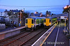 A sight which won't happen for much longer with the impending withdrawal of the 2700 Class fleet. 2710 + 2709 1705 Athlone - Galway passes 2711 + 2712 1730 Galway - Limerick at Athenry. Sat 11.02.12
