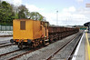 The last remaining rake of Ballast Hoppers were stabled at Mallow on Saturday 21st April 2012.