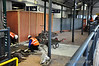 Mallow Station is undergoing work to install ticket barriers. This is the first station outside the Greater Dublin Area to receive ticket barriers. Tues 12.02.13