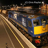 111 Sits in Castlerock Loop overnight whilst stabled here during the relay 200213