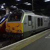 67012 on the blocks at Euston after working the sleeper Wembley Yard. 170214