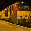 67007 calls at Dundee with the 0440 Edinburgh / Aberdeen Sleeper (Continuation of the 2116xLondon). 010314