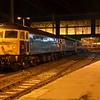 47848 + 47843 at Carlisle working the continuation of the 2350 London Euston / Glasgow Central 'Lowland Sleeper' via Dumfries. Fri 15.01.16