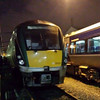 22037 stabled at York Road Depot having worked the 1000 from Dublin earlier in the day. Due to a line closure at Lurgan following a security alert, The ICR was brought here for stable until such time it could return south. Sun 24.01.16<br /> <br /> (With thanks to AJ111)