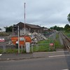 The new park and ride facility under construction at Cullybackey. Weds 14.06.17