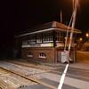 Tuesday 13th June,<br /> <br /> The closed 'Coleraine Signalcabin'. Tues 13.06.17