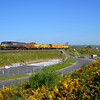 After running round at Newry, the train then returned south and departed for Platin Cement Works, near Drogheda. Weds 10.05.17