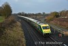 On Friday 20th January, Heineken Ireland charted a MKIV set from Iarnrod Eireann to take guests from Cork, Mallow, Limerick Jct. & Portlaoise to a conference in Dublin. The Spl. departed Cork at 0645 with set 4003 and is pictured passing through Portarlington 4 minutes down at 0844. A balancing 0530 Heuston - Mallow empty operated to provide a set for the 0800 Mallow - Cork & 0920 Cork - Heuston. Fri 20.01.17
