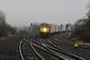 226 heads the 0935 North Wall - Ballina IWT Liner through Portarlington. Sat 19.01.19