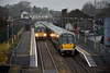 The 1245 Heuston - Westport (22023 + 22053) crosses the 1310 Westport - Heuston (22030) at Roscommon. Sat 04.01.20