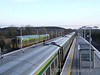 The recently refurbished Ballybrophy Station. Thurs 03.01.08