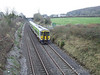 2718 + 2717 + 2726 + 2723 returned to Cork working the 1400 Heuston - Cork, seen leaving Portarlington. Sun 10.02.08