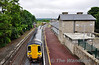 2719 + 2722 depart Roscrea for Ballybrophy while 2711 + 2712 await the road for Roscrea.  Tues 03.07.012