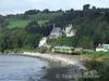 2706 + 2705 + 2712 + 2711 pass Glounthaune Village with the 1100 Cork - Cobh. Mon 29.09.08