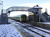 2726 + 2723 + 2704 + 2703 pass the former signal cabin at Rathmore with the 1315 Tralee - Mallow. Fri 01.02.08