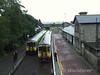DMU's crossing at Roscrea. Sat 06.09.08