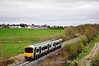 The 1050 Ballybrophy - Limerick IRRS Special passes Borris-in-Ossory with 2719 + 2722. Sat 31.03.12