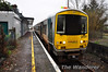 2701 + 2702 1005 Ballybrophy - Limerick at Castleconnell. Sat 31.12.11