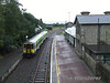 The 0838 Ballybrophy - Limerick formed by 2717 + 2718 arrives into Roscrea to cross the Special 0735 Limerick - Ballybrophy service. Sat 06.09.08