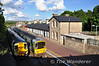 A few minutes later 2708 +2707 pass 2719 + 2722 at Roscrea. 2708 + 2707 were the 1705 Limerick - Ballybrophy and does not call at this station on weekdays as there is only one operational platform. Tues 29.05.12