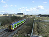 2720 + 2721 worked a 1005 Drogheda - Limerick empty this morning following attention at the Commuter DMU depot. They are seen at Portlaoise on the journey to Limerick. Tues 31.03.09