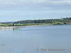 2707 + 2708 cross the Causeway to Slatty Island with the 1720 Cork - Cobh Special. Sun 26.08.07